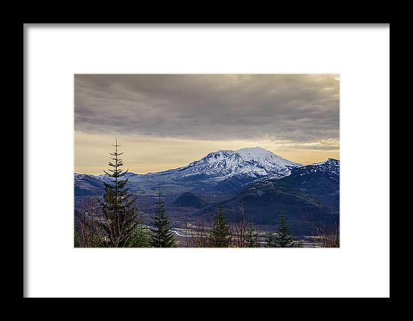 Landscape Framed Print featuring the photograph A Warm Winter by Michael Scott