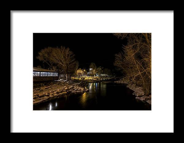 Arkansas River Framed Print featuring the photograph A Winter's River by Glenn Martin
