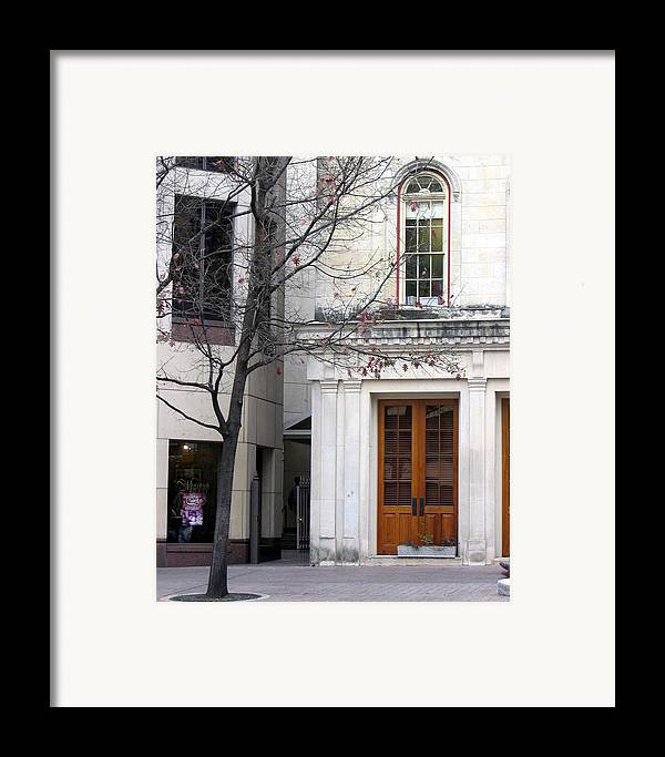 Photograph Framed Print featuring the photograph A Wintry Day by Lindsey Orlando