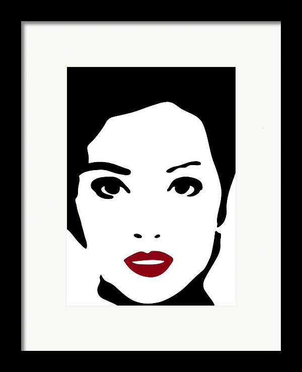 Fashion Art Framed Print featuring the painting A Woman In Fashion by Frank Tschakert