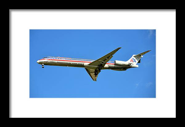 Jet Framed Print featuring the photograph Aa One by David Lee Thompson