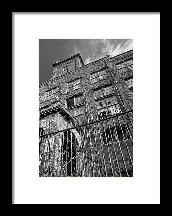 Warehouse Framed Print featuring the photograph Abandoned by Antonio Gruttadauria
