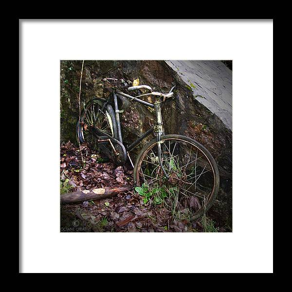 Irish Framed Print featuring the photograph Abandoned Bicycle by Tim Nyberg