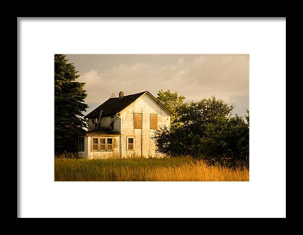 Wisconsin Framed Print featuring the photograph Abandoned..... by Carl Jackson