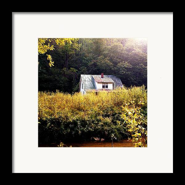 Farm Framed Print featuring the photograph Abandoned Farm Home by George Ferrell