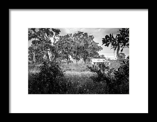 Abandoned Framed Print featuring the photograph Abandoned Farmhouse by Ryan Stoddard