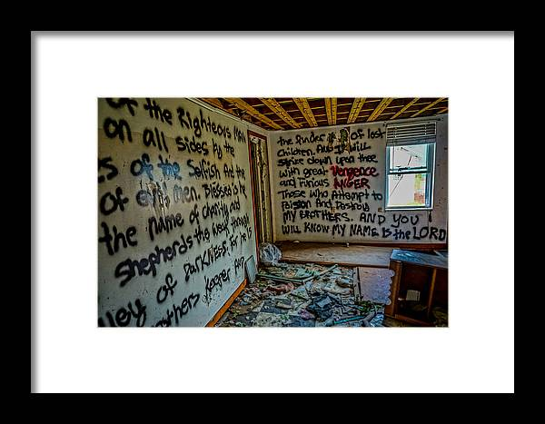Abandoned Framed Print featuring the photograph Abandoned House, Full Of Hope by Zachary Zsamboky