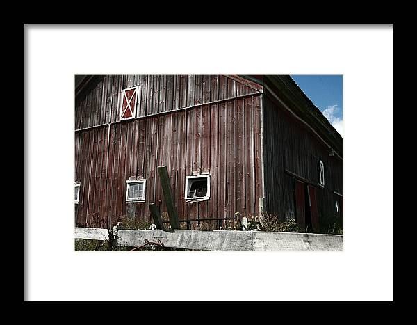 Abandoned Framed Print featuring the photograph Abandoned by Robert Green