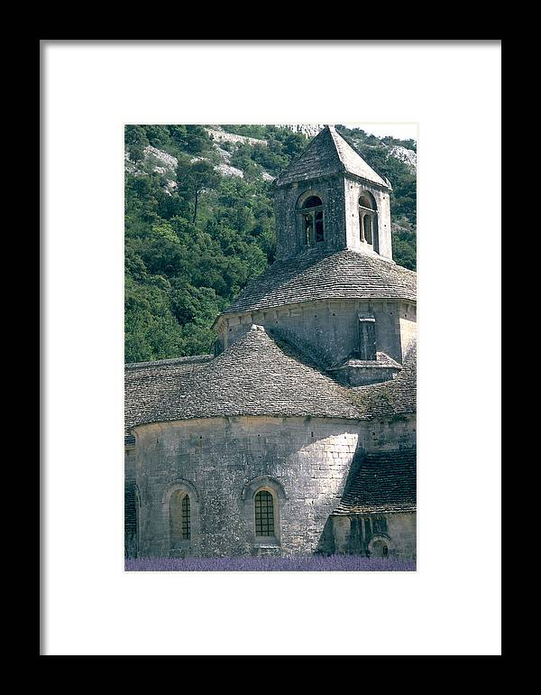 Abbeye De Senanque Framed Print featuring the photograph Abbeye De Senanque by Flavia Westerwelle