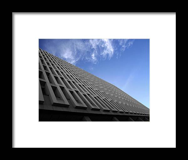 Building Framed Print featuring the photograph ABC by Kelly King