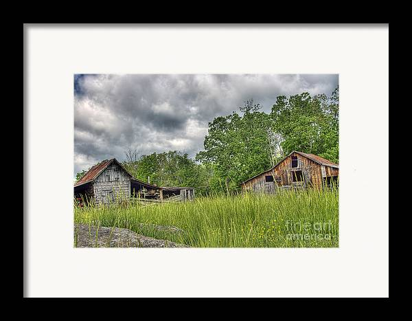 Virginia Framed Print featuring the photograph About To Storm by Pete Hellmann