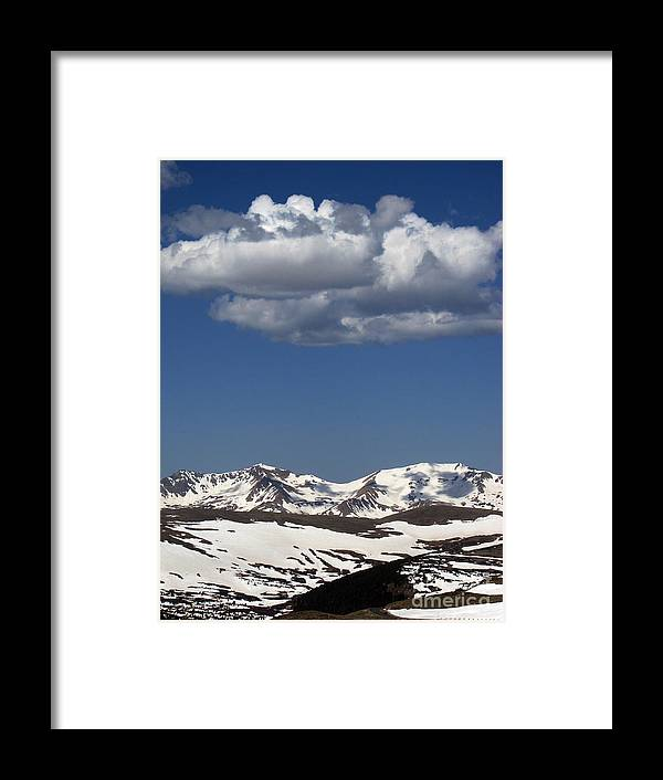 Colorado Framed Print featuring the photograph Above It All by Amanda Barcon