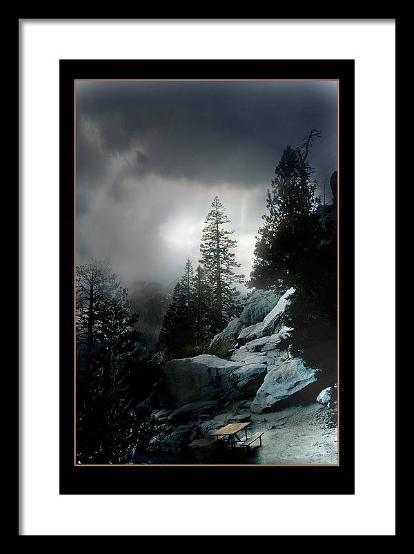 Landscape Framed Print featuring the photograph Above Palm Springs by Richard Gordon