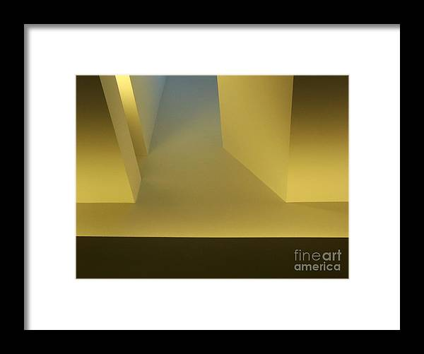 Yellow Framed Print featuring the photograph Above Series 4.0 by Dana DiPasquale