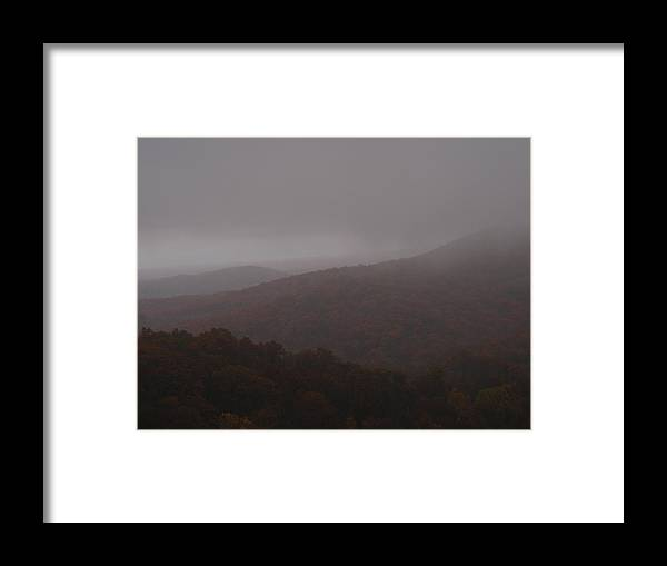 Fog Framed Print featuring the photograph Above The Clouds by James and Vickie Rankin