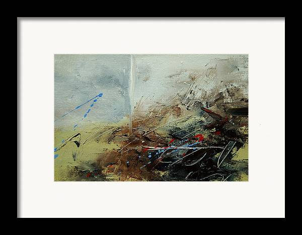 Abstract Framed Print featuring the print Abstract 070408 by Pol Ledent