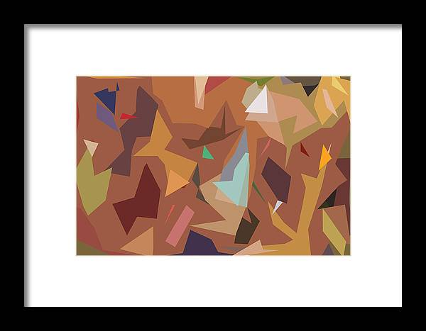 Abstract Framed Print featuring the digital art Abstract 16 by Art Spectrum
