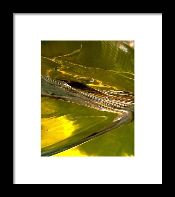 Abstract Shapes Framed Print featuring the photograph Abstract 268 by Stephanie Moore