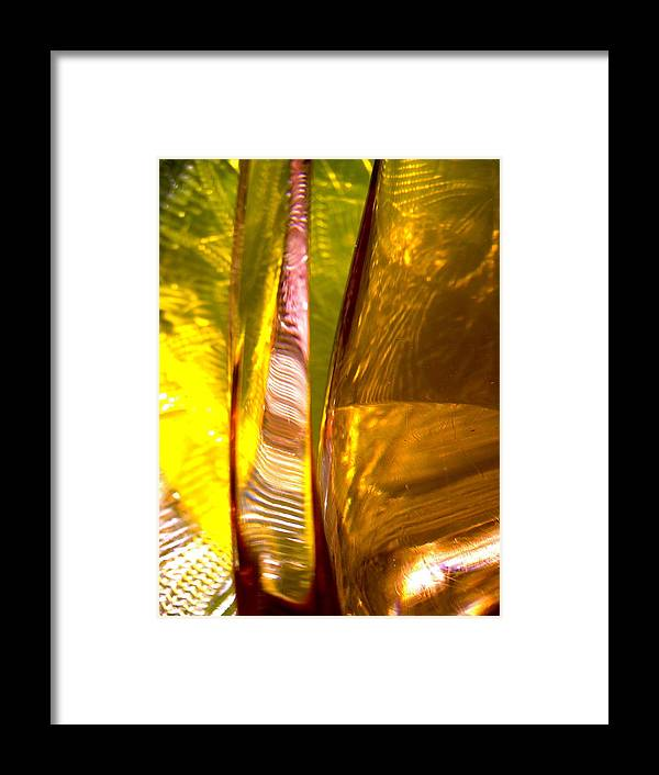 Abstract Shapes Framed Print featuring the photograph Abstract 280 by Stephanie Moore