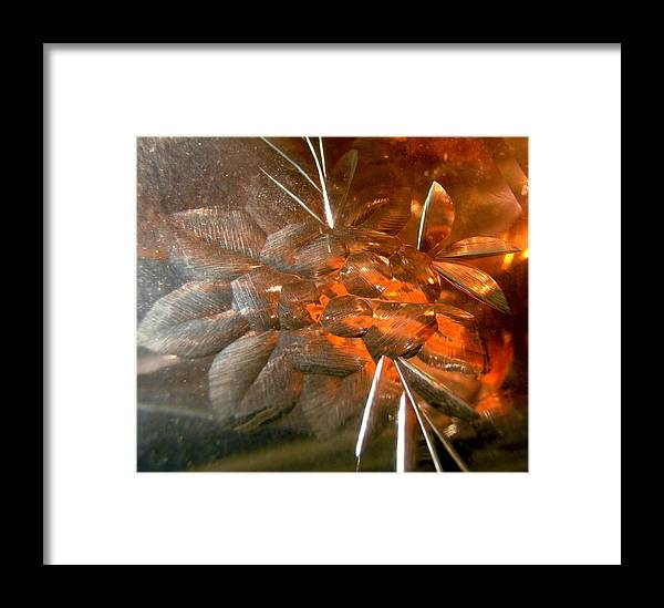 Abstract Shapes Framed Print featuring the photograph Abstract 969 by Stephanie Moore