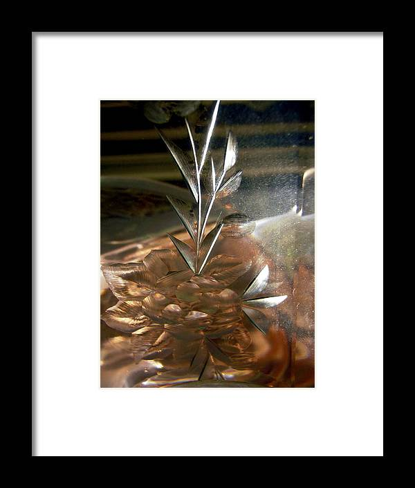 Abstract Shapes Framed Print featuring the photograph Abstract 970 by Stephanie Moore