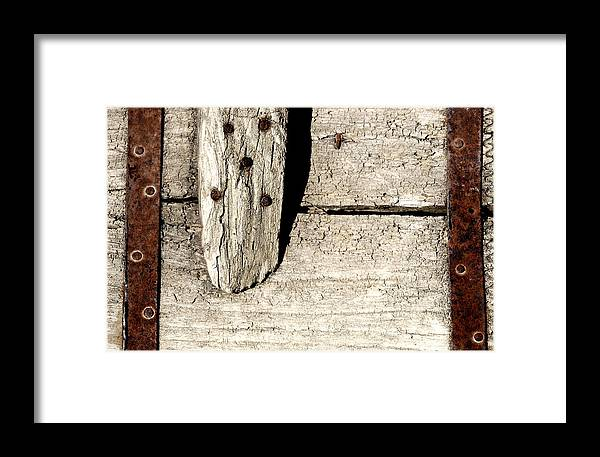 Nail Framed Print featuring the photograph Abstract by Apurva Madia