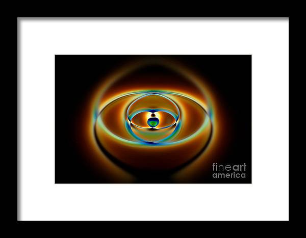 Abstract Framed Print featuring the digital art Abstract Fudge by Brian Roscorla