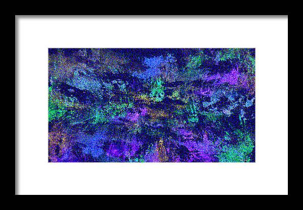 Wilderness Framed Print featuring the painting Abstract Landscape by Hema Rana