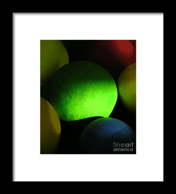 Abstract Framed Print featuring the photograph Abstract No. Twenty One by Tom Griffithe