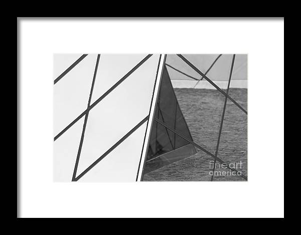 Abstract Framed Print featuring the photograph Abstract Space by Hideaki Sakurai