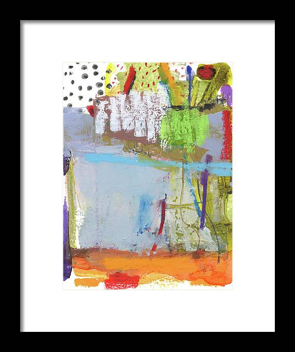 Abstract Framed Print featuring the mixed media Rcnpaintings.com by Chris N Rohrbach