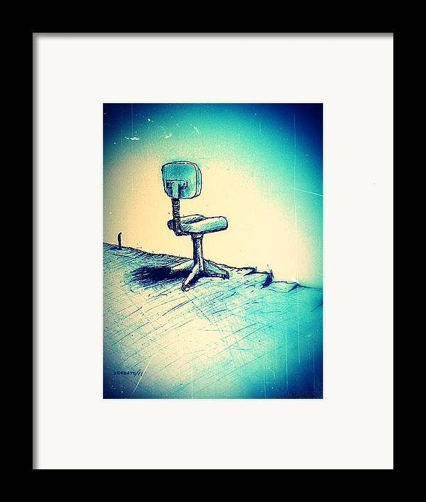 Abyss Financial Framed Print featuring the digital art Abyss Financial by Paulo Zerbato