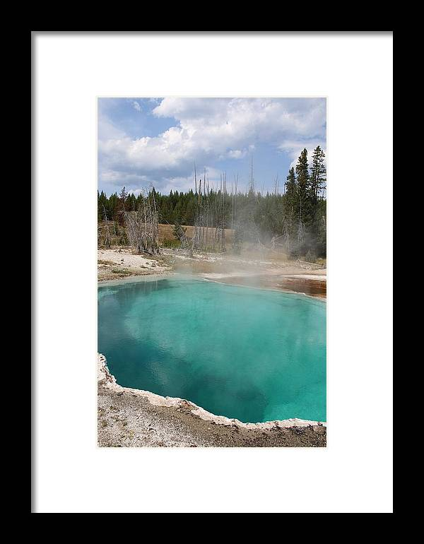 Abyss Pool Framed Print featuring the photograph Abyss Pool by Darla Wells