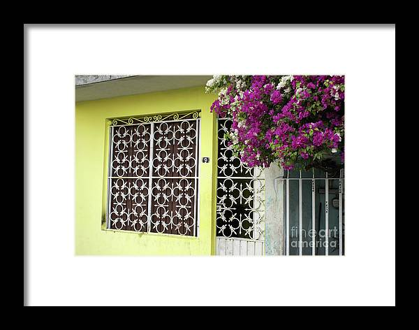 Mexico Framed Print featuring the photograph Acapulco House by John Mitchell