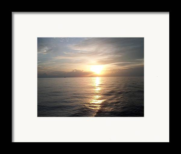 Sunset Framed Print featuring the photograph Acapulco Sunset by Janet Hall