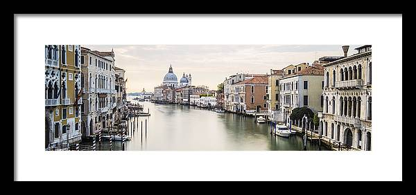 Venice Framed Print featuring the photograph Accademia Bridge by Marco Missiaja