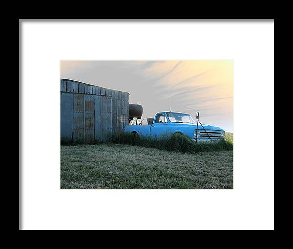 Accentuated Chevy Framed Print featuring the photograph Accentuated Chevy by Dylan Punke
