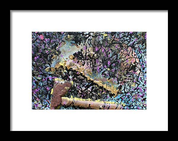 Framed Print featuring the painting Accetta Caduta by Biagio Civale