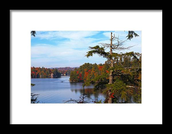 Adirondack Framed Print featuring the photograph Adirondack View by Robert Och