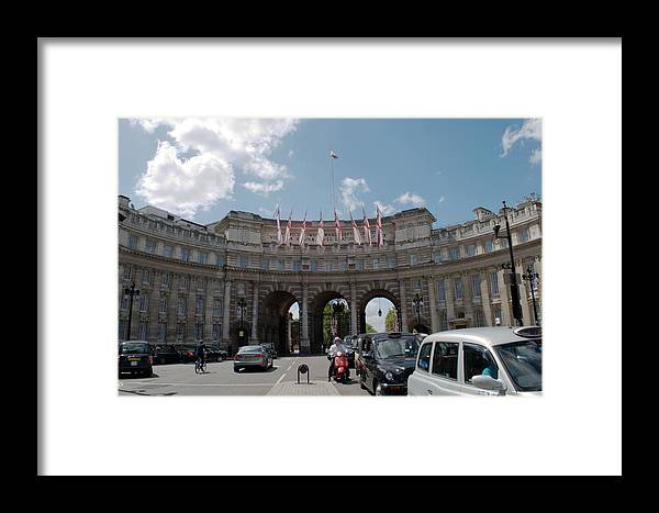Admiralty Arch Framed Print featuring the photograph Admiralty Arch by Chris Day