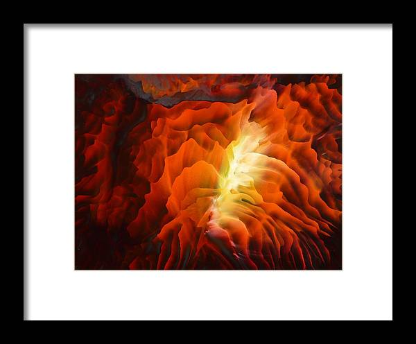 Abstract Art Framed Print featuring the painting Adventures Of The Soul by Tara Baden