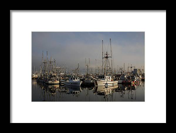 Fishing Boats Framed Print featuring the photograph Ae Viking by Randy Hall