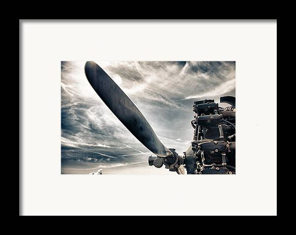 Airplane Framed Print featuring the photograph Aero Machine by Nathan Larson