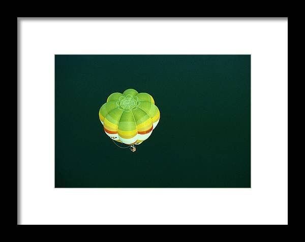 Hot Air Balloon Framed Print featuring the photograph Afloat by Brut carniollus