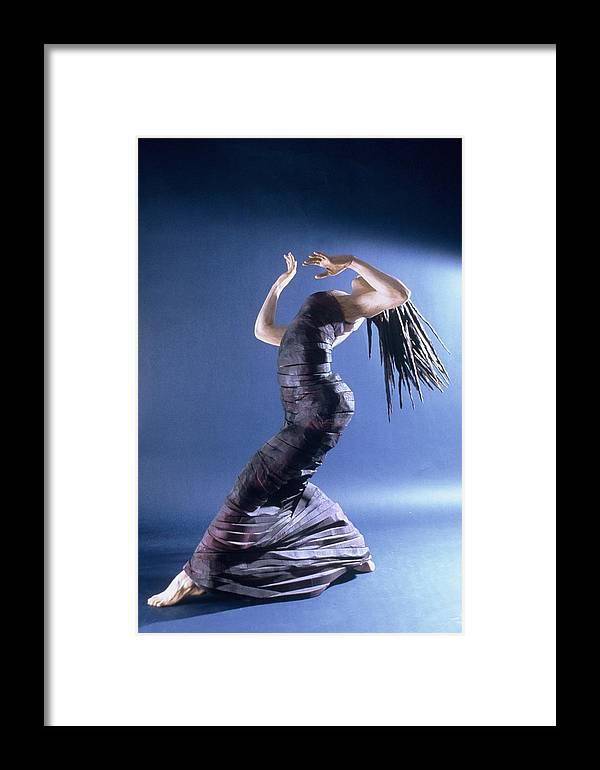 Dance Framed Print featuring the sculpture African Dancer Left View by Gordon Becker