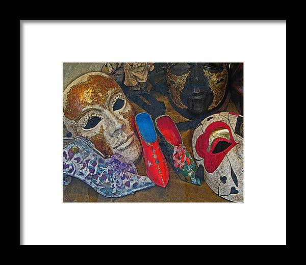 Venice Framed Print featuring the photograph After Carnival by Sonia Melnikova-Raich