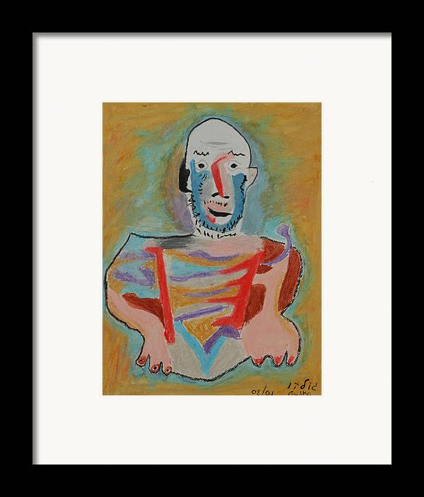 Picasso Framed Print featuring the painting After Picasso by Harris Gulko