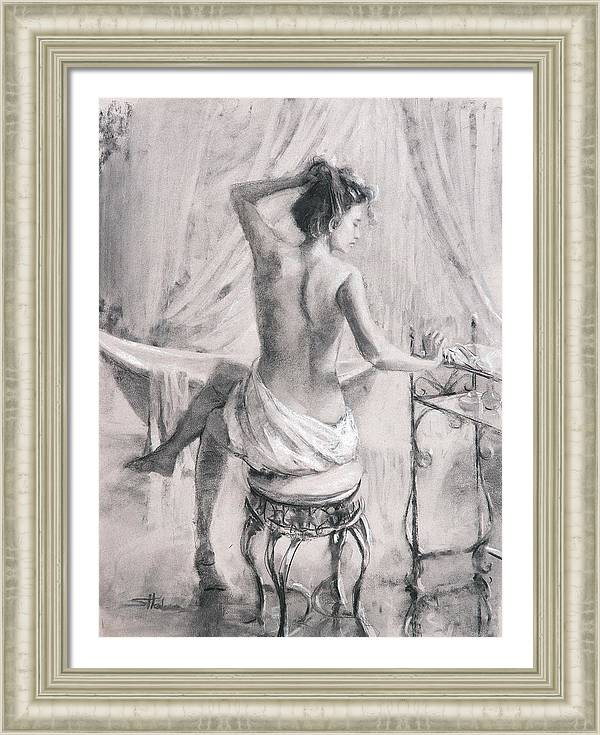 After the Bath by Steve Henderson