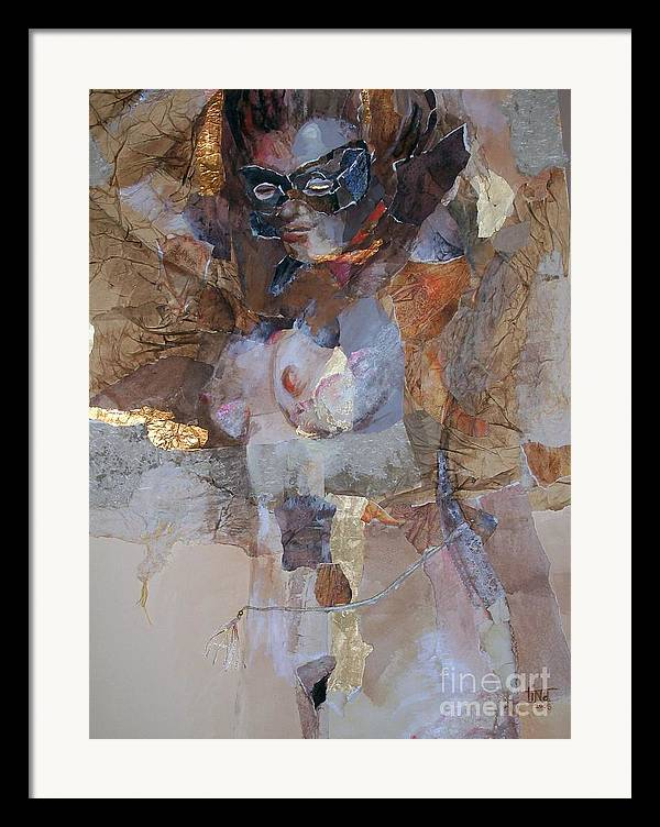 Figurative Framed Print featuring the painting After The Show by Tina Siddiqui