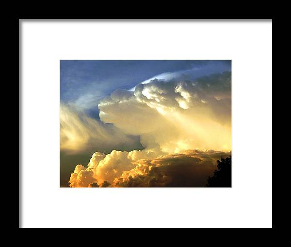 Clouds Framed Print featuring the photograph After the Storm by Helen ONeal